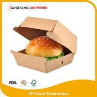 Wholesale Kraft paper burger packaging box from china suppliers