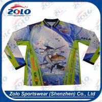 Wholesale Cheap custom fully dye sublimated fishing shirts from china suppliers