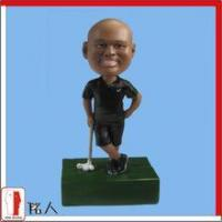 Wholesale Sports Bobblehead golf player bobblehead from china suppliers