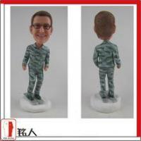 Wholesale custom boblehead from photo fully handmade cake topper birthday gift from china suppliers