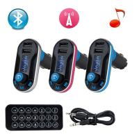 Buy cheap Wireless Bluetooth FM Transmitter MP3 Player Car Kit Charger for iPhone 6 5S 5C from wholesalers