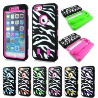 Buy cheap Heavy Duty Hybrid Zebra Rugged Rubber Hard Case Cover for Apple iPhone 6 Plus from wholesalers