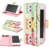 Buy cheap Owl Hybrid Wallet Leather Card Stand Flip Cover Case for iPhone 6 Plus & 4.7