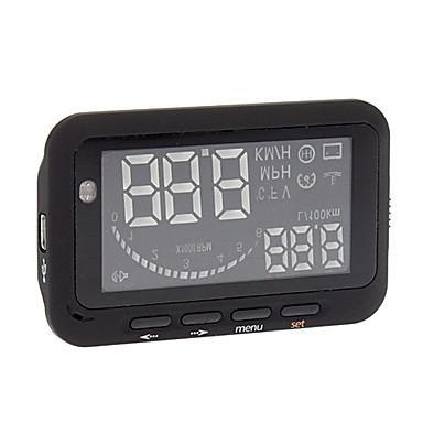 Quality Car Obd Hud Mile/Speed/Battery Voltage Windshield Head Up Display for sale