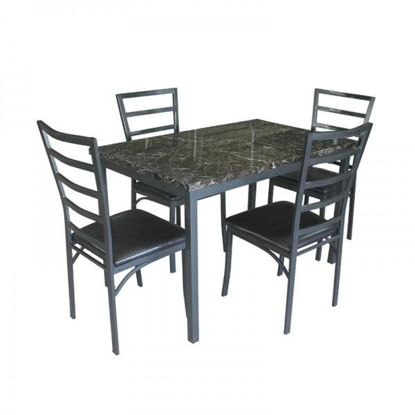 Wholesale Dining Tables: Wholesale Rectangle Faux Marble Dining Table Set Images