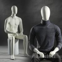 Wholesale New arrival sitting men mannequins for window display shop from china suppliers