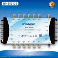 ODM or OEM serivice andSAT:950~2150MHz 5X5X12 cascadable multiswitch for smart tv