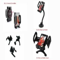 China Universal 3 IN 1 Long Arm Suction Mount Air Vent Car Holder Kit Various Phones on sale