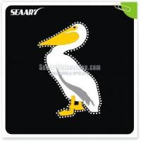 China Dodo glitter with lead free hot fix t shirt rhinestone transfers on sale