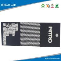 China Top garments paper hang tag- HT0050 for sale