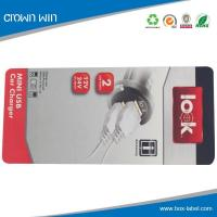 China USB product paper hang tag- HT0047 for sale