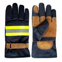 Buy cheap Khaki Nomex Firefighter Gloves from wholesalers