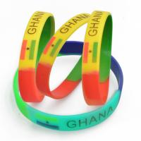 China manufactory supply silicone bracelets wholesale for sale