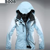 Wholesale Women's Padded Ski Jacket Outdoor Snowboard Winter Sport Waterproof Snowproof Breathable Coat from china suppliers