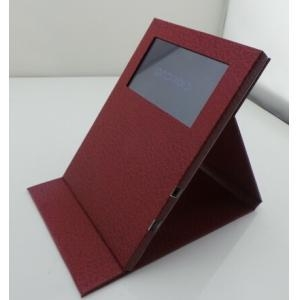 Quality 4.3 inch video card Android Leather for sale