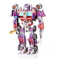 China 3D Cardboard Jigsaw Puzzles For Optimus Prime on sale