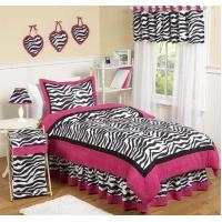 Wholesale Pink Zebra Full/Queen Bedding Set from china suppliers