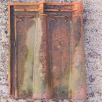 China 10. Double Roman Clay Bridge water Roofing Tiles on sale