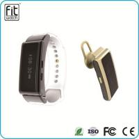 China Appointment reminder drinking sedentary wakeup Smart Bracelets Bluetooth Headset on sale