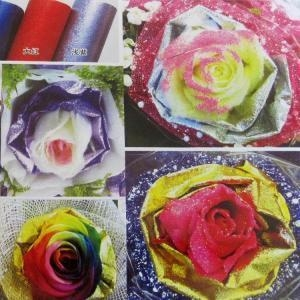 Quality Aluminium Wrapping Paper For Flower for sale