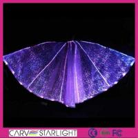 Wholesale YQ-59 Optic fiber fashion dance luminous isis wings from china suppliers