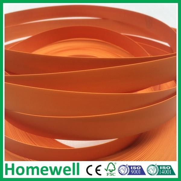 Quality PVC Edge Banding 0.5mm formica matt solid color Pvc edging Banding for sale