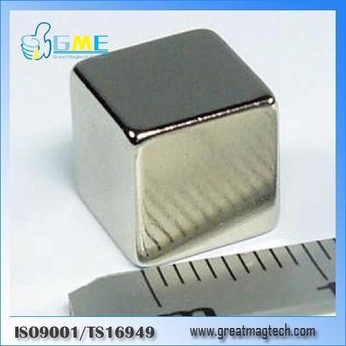 Quality cube F10x10x10mm neodymium strong magnets for sale