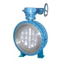 Butterflyvalveseries  Gear Box Flanged Type Metal Sealing Butterfly Valve