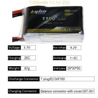 Wholesale 14.8v Kylin 7.4V 1100mAh 25C Wltoys A949 A959 A969 A979 K929 1/18 Rc Car LiPo Battery from china suppliers