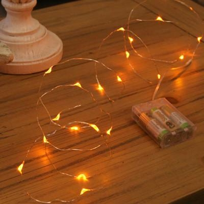 Battery Operated Led String Lights Warm White : Battery operated led string light Warm white 3AA battery operated led string light of e-kashing