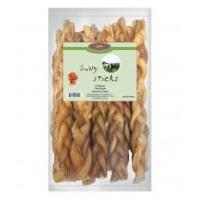 China Treats 12 in Braided Bully Stick(6 Bags/Box) Odor Free on sale