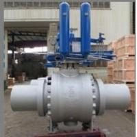 Wholesale API 6D Trunnion Ball Valves, Gas Over Oil Actuated from china suppliers