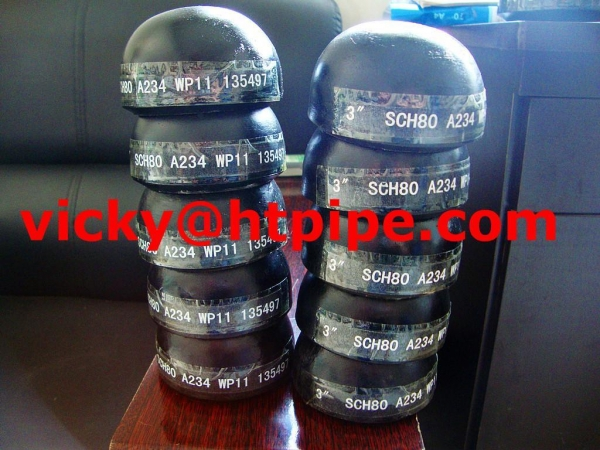 China ASTM A420 carbon steel pipe fittings