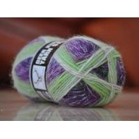 Wool Mohair blended yarn