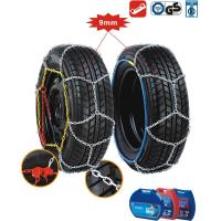 China Passenger car tire chain 9mm snow Chains on sale