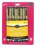 Wholesale Sakura 30068 8-Piece Pigma Micron Assorted Colors 01 Ink Pen Set from china suppliers
