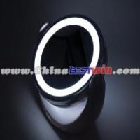 Wholesale double-side magnifying LED lamp desktop plastic mirror from china suppliers