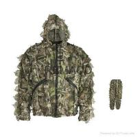 Buy cheap Ghillie Suit 3D leaf Camo Set Jacket and Pant from wholesalers