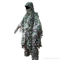 Buy cheap Ghillie Suit Camo Poncho Ghillie Suit from wholesalers