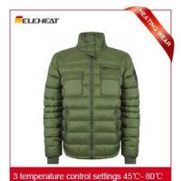 Wholesale Heated Clothing|Mans outdoor heating clothing heated clothing from china suppliers