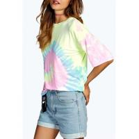 Buy cheap washed out tie die swirl t shirt from wholesalers