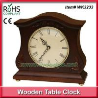 China WK323327.5x26 cm Wooden arts crafts resin clock on sale