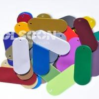 Buy cheap Large Plastic Mirror Sheets With Different Color from wholesalers