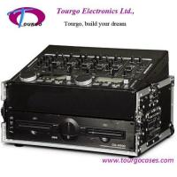 8U Slant Mixer Rack with 2U Vertical Rack System