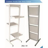 Foldable double side store fixture for sale