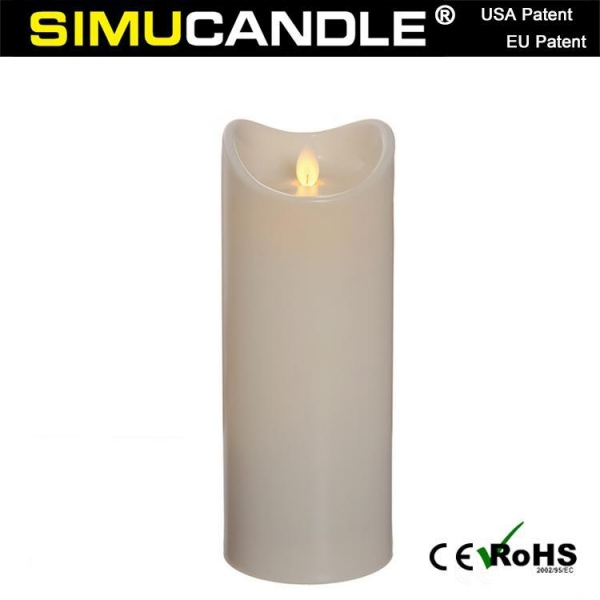 Quality 3.5 Inches Resin Candle LCF9T-I for sale