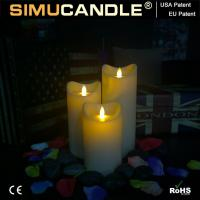 Wholesale 3.5 Inches Resin Candle Resin Candle Set1 from china suppliers
