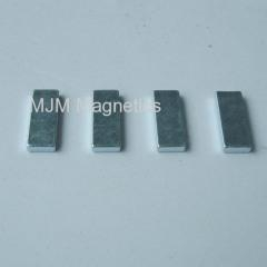Quality NiCuNi coated Neodymium Block Magnets for linear motors for sale