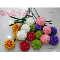China GR-1503 wholesale artificial flowers ball chrysanthemums on sale