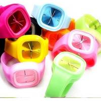China Plastic &Silicone Watch Silicone Promotional Watch on sale